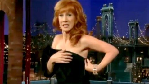 Video: Kathy Griffin strips on TV (again)