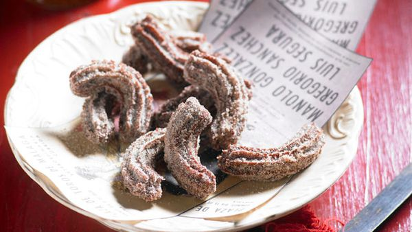 Chocolate churros