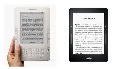 Kindle 2 vs Kindle Paperwhite
