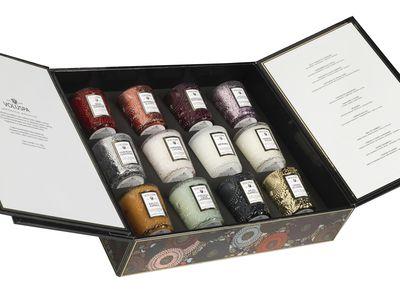 "<a href=""https://www.saison.com.au/voluspa-japonica-archive-gift-set.html"" target=""_blank"">Voluspa Japonica Archive Gift Set, $149.95.</a>"