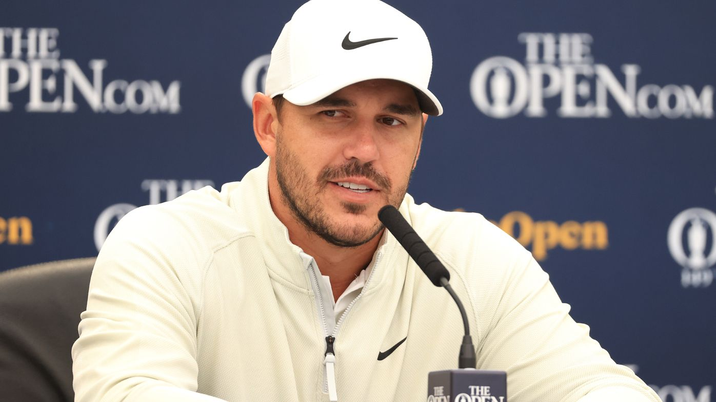 Brooks Koepka at the Open