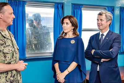 Princess Mary and Prince Frederik in South Korea, May 2019
