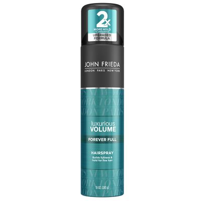 "<a href=""https://www.priceline.com.au/brand/john-frieda/john-frieda-luxurious-volume-all-day-hold-hairspray-283-g"">John Frieda Luxurious Volume Forever Full Hairspray, $15.99, johnfreida.com.au</a>"