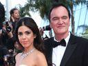 Quentin Tarantino and his wife Daniella Tarantino