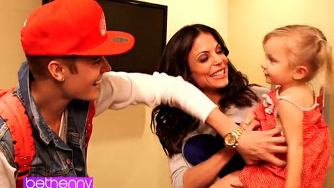 WATCH: Justin Bieber sings 'Baby' to a baby, fails to impress