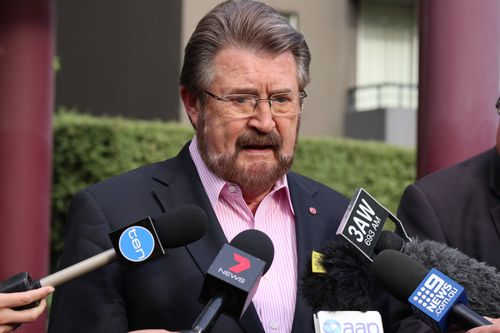 Mr Hinch said despite his life-saving liver transplant, he will continue to drink. (AAP)