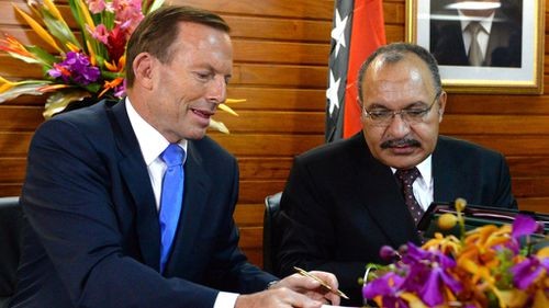 PNG PM says Manus Island security has 'improved'