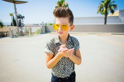 "Hipster Gavin Duh loves music and rocks a quiff like no other kid we know. Check out his style on <a href=""https://www.instagram.com/gavinduh/"" target=""_blank"">@gavinduh</a> - an account run by his mum."