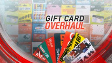 Gift card overhaul