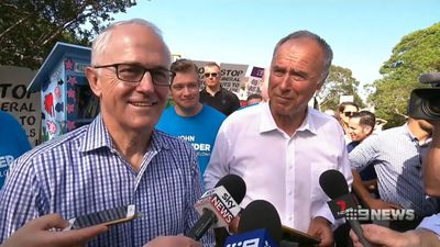 John Alexander wins back Sydney seat of Bennelong