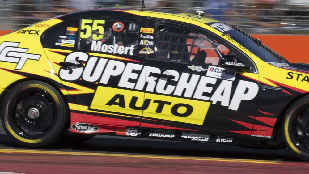 Chaz Mostert had good pace at Bathurst on Friday. (AAP)