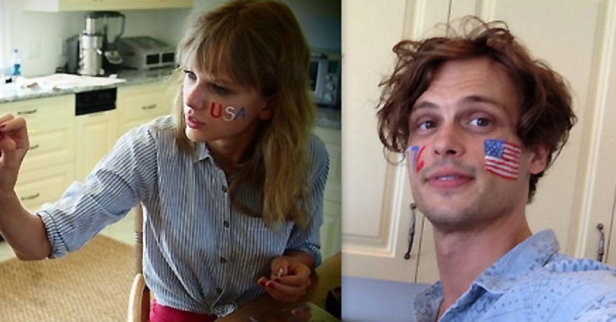 Is This Taylor Swift S New Man Matthew Gray Gubler Uploads Photo Inside Taylor S Kitchen 9celebrity