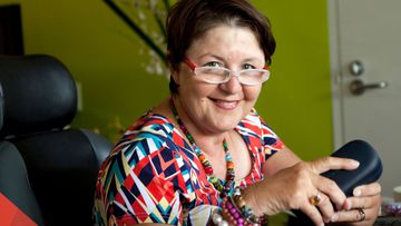 Julia Agostinelli has Multiple Sclerosis, and was