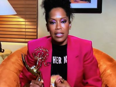 Regina King wins Outstanding Lead Actress in a Limited Series at Emmys.