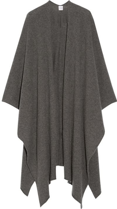 "<a href=""http://www.net-a-porter.com/product/543003"" target=""_blank"">Cashmere Wrap, $548.41, Madeleine Thompson</a>"