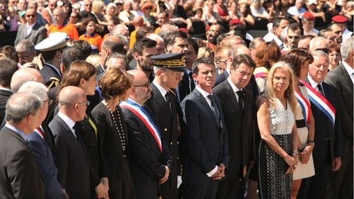 French Prime Minister Manuel Valls was booed while attending vigil for victims of the Nice attack. (Getty Images)