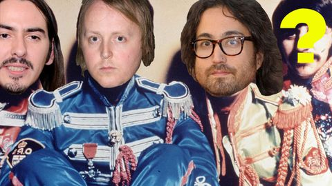 The Beatles' lookalike sons in 'Next Generation' supergroup?