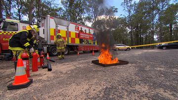 The intense camp to find young female firefighters