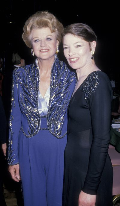 Glenda Jackson and Murder She Wrote actress Angela Lansbury at the 42nd Tony Awards in New York in 1988
