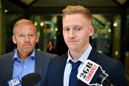 Sam Oliver claimed he acted in self-defence.