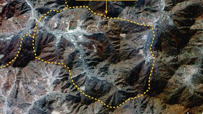 The satellite image that reveals North Korea's hidden missile bases