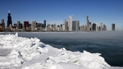 More than 200 million people are reportedly facing freezing temperatures as a Polar vortex grips the US Midwest.