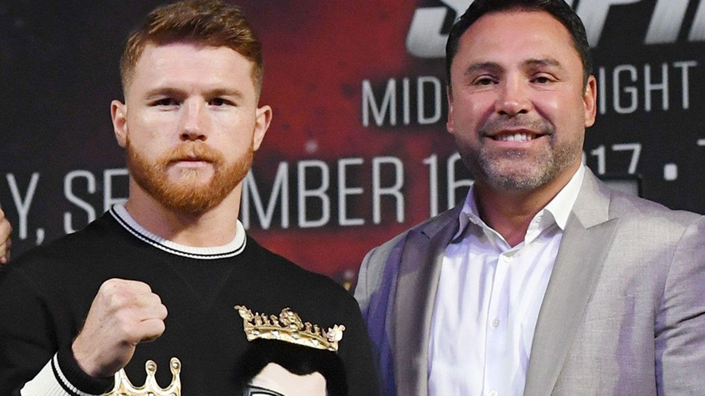 Canelo Alvarez sues Oscar De La Hoya, DAZN, claiming breach of boxing contract
