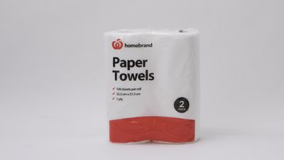 The worst performing paper towel