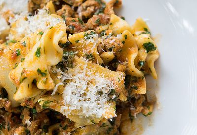 Duck and veal ragu for pasta