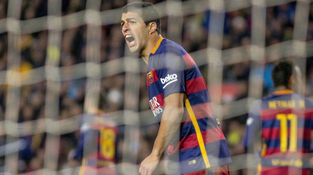 Luis Suarez. (AFP)