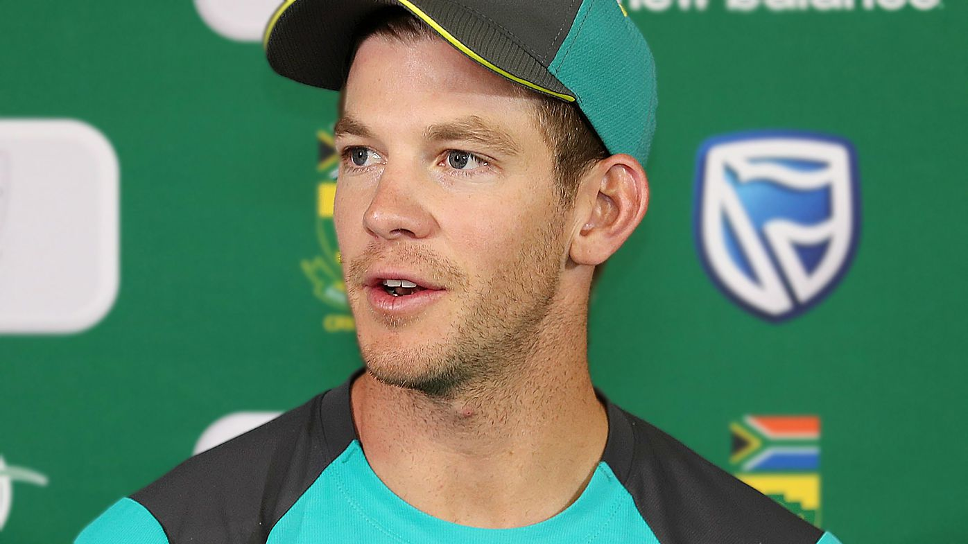 Tim Paine captain of Australia