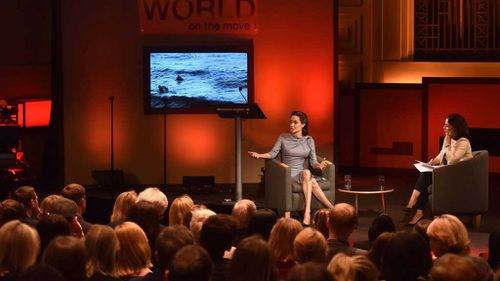 Jolie has acted as a UNHCR goodwill ambassador  since 2001. (AP)
