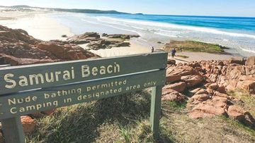 A swimmer has been mauled by a shark at Samurai Beach, Port Stephens.