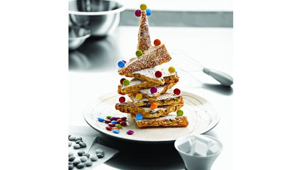 Best Christmas choc chip biscuit tree