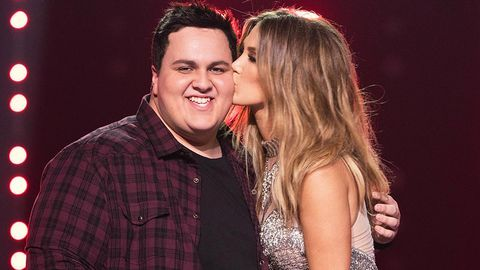 Delta Goodrem Judah Kelly The Voice