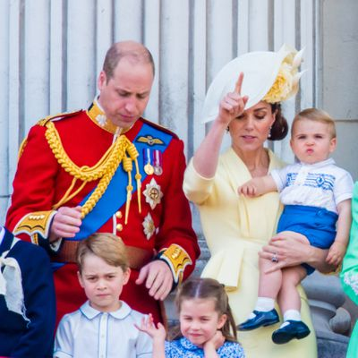 Princess Charlotte's royal wave
