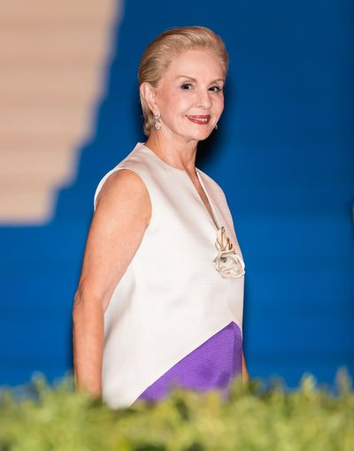 <p>Crisp and chic are the two words associated with Carolina Herrera who has dressed  Jacqueline Onassis, Laura Bush and Michelle Obama.</p>