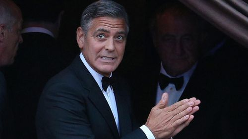 George Clooney and Amal Alamuddin have tied the knot in Venice, Italy. (AAP)