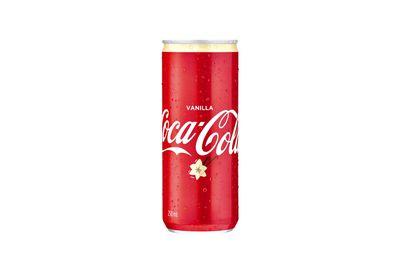 Coca-Cola Vanilla: 10.9g sugar per 100ml