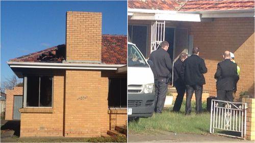 Elderly man dies in house fire in Melbourne's north-west