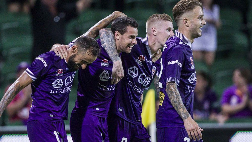 Perth march on in A-League with win over Wanderers