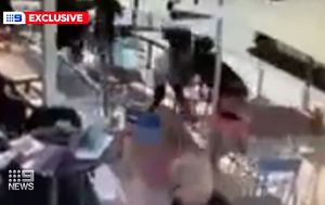 Violent pub clash between alleged bikie rivals caught on camera
