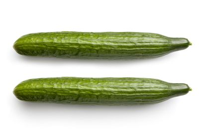 2 cucumbers are 100 calories
