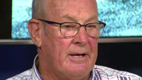 """""""I remember asking him 'why are you doing this to me',"""" Mr Tennant, 72, recalled. (9NEWS)"""