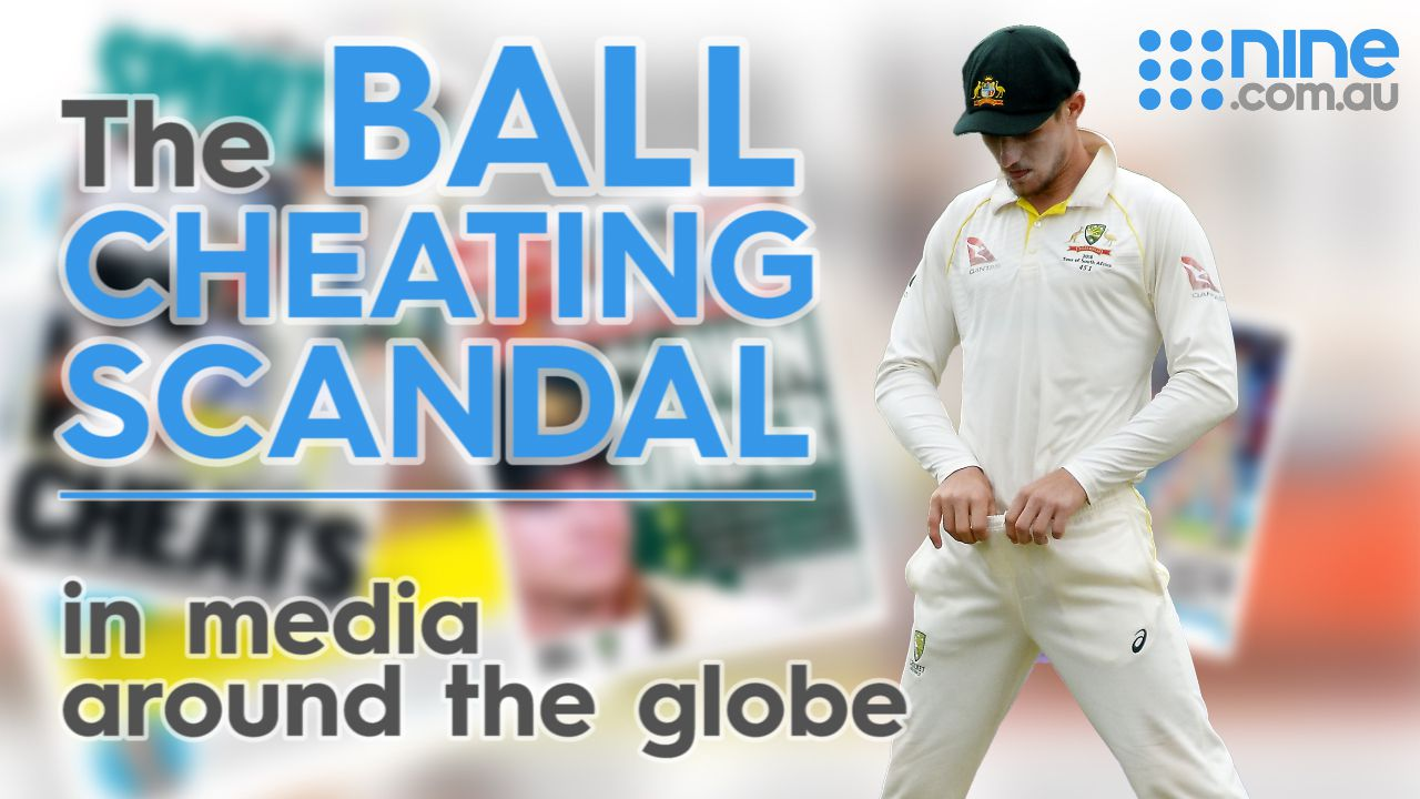 Ashes opponents react to Aussie ball-tampering scandal
