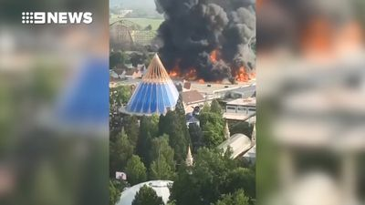 German park reopens after massive fire forces evacuation of 25,000 guests
