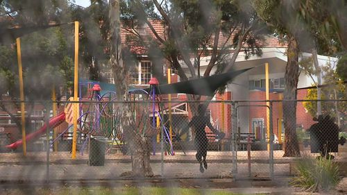 The offender targeted two girls. Picture: 9NEWS