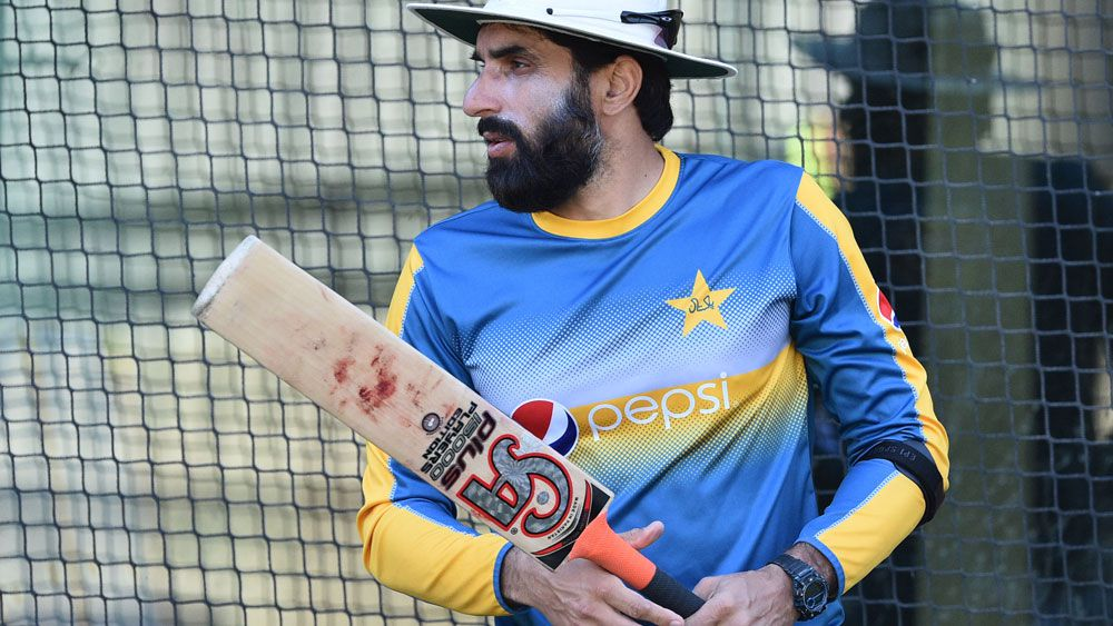 Pakistan captain Misbah Ul-Huq is feeling good ahead of the second test. (AAP)