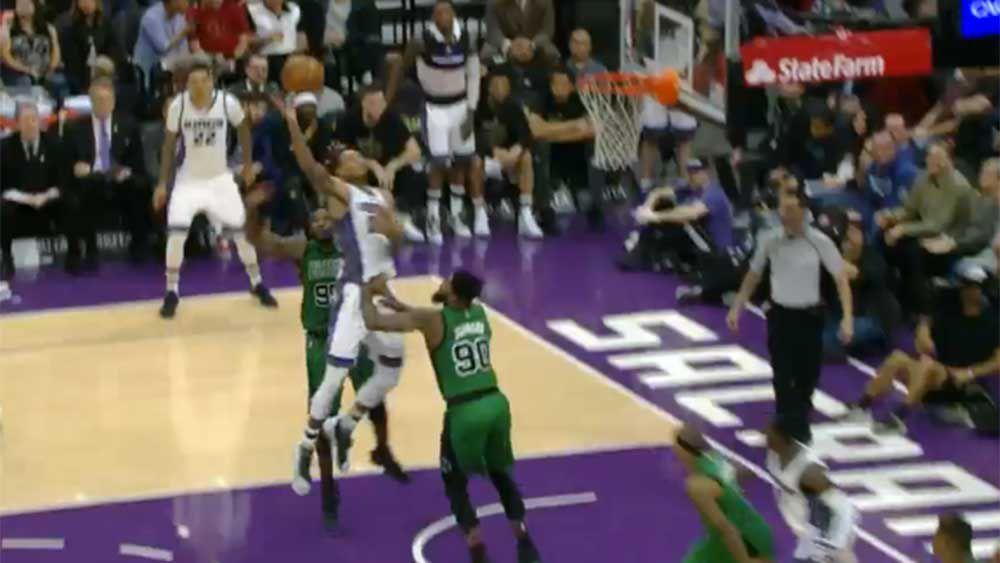 NBA: Kings Cauley Stein throws down season's most vicious dunk