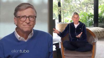 Bill Gates spoke to Ellen DeGeneres  about the coronavirus pandemic.